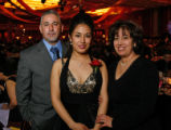 Jesus, Karla and Cruz Ramos. Karla was the LAEF Award recipient. (STEVE PETERSON/SPECIAL TO THE...