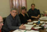 RMN003 Colorado parole board members John Rosen, Leslee Waggener, Verne Saint Vincent (cq accd'g...