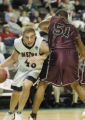**SPECIAL FOR ROCKY MOUNTAIN NEWS**Metro State's Michael Morse, left, against Virginia Union's...