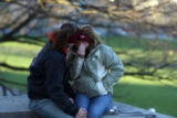 (NYT2) BLACKSBURG, Va. -- April 17, 1007 -- VA-TECH-SHOOTINGS-2  Students Lindsey Williamson, 19,...