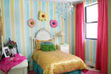 A girls bedroom in one of this year's Junior Symphony Guild Showhomes, which are two townhomes in...