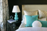A detail in a bedroom in one of this year's Junior Symphony Guild Showhomes, which are two...