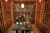 The wine cellar in the home of John and Trish Morphew-Lewis in Boulder on March 27, 2007. Like...