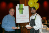 Alto Restaurant owner Greg Goldfogel, left, and chef Joe Garcia. (SOUP FOR THE SOUL) Soup for the...