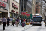 View of the 16th Street Mall  on Thursday April 25,2007.New vision plan for downtown Denver will...