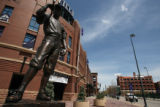 View of the Coors Field area  on Thursday April 25,2007.New vision plan for downtown Denver will...