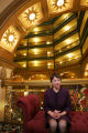 Kathleen Brooker,(cq) president of Historic Denver, Inc. at the Brown Palace Hotel on April 24,...
