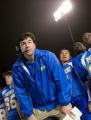 FRIDAY NIGHT LIGHTS -- NBC Series -- Pilot -- Pictured: Kyle Chandler as Coach Eric Taylor -- NBC...