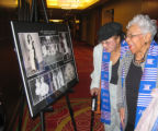 Founding Jack & Jill Denver Chapter members Lynn Noel, left, and Mary W. Smith look at...