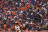 [JPM0119] In the third quarter, Cincinnati Bengals returner Glenn Holt waits for the kickoff amid...