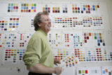 Color expert James Martin in his office in Denver on January 8, 206.  Home Front cover story on...