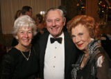 Barbara and Bob Danos, left,  with Nancy Petry, one of the distinguished members of the 2006 ...