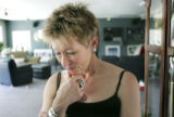 (CENTENNIAL, Colo., March 28, 2005) Colleen Auerbach, mother of Lisl Auman, experiences a range of...