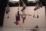 (Boulder, Co., April 11, 2005)  l to r:   Frequent Flyers Productions, Inc. dancers  Joshua Fink,...