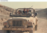 PRN5 - In Sahara, master explorer Dirk Pitt (Matthew McConaughey), in his Jeep Wrangler Unlimited,...