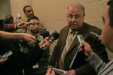 Vice President of Basketball Operations Mark Warkentien speaks with the media Monday evening  Dec....