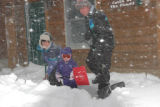 Stranded by the strongest blizzard of the season, Donna and Bill Miller, and their three-year-old...