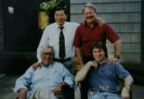 A picture of some of the key people from the days of the Ramsey case:  (back row) Dr. Henry Lee...