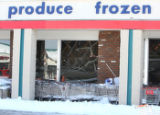 A building collapse at the Hoffman Heights Shopping Center in Aurora  on Friday December...