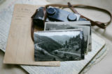 A few of the 40,000 postcards of historic Colorado, made by photographer Harold Sanborn and his...
