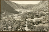 A postcard showing Georgetown, Colo., taken in the early 1930's, by photographer Harold Sanborn....
