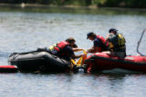 Search & Rescue crews from South Metro and Westiminster recover the body of a 15-year-old boy...