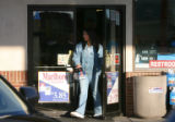 Francesca (asked not to use last name) leaves a Westen gas station during a recent acohol...