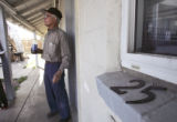 (Adams County, Colo., April 14, 2005) 79 year old Jerry Zamora stands in front of some of the...