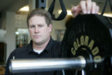 ORIGINAL UNTONED --- JPM085  University of Colorado's new strength and conditioning coach Jeff...