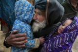 (NYT43) ZARINKHEL, Afghanistan -- Dec. 11, 2007 -- AFGHAN-TALIBAN-2  An elderly man arrives with...