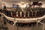 (DENVER, CO., April 18, 2005)  Bottles of SummerBright Ale roll along the bottling line at...