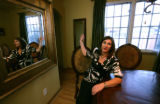 Tracey Lepine talks about all the changes and reconstruction of her dinning room in Denver, Colo....