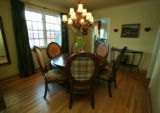 The newly reconstructed dinning room of Tracey Lepine's in Denver, Colo. on Wednesday December 12,...