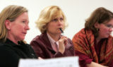 (Left to right) Kathleen Neel, Town Clerk ( as of october 2007) , Blue River (need to check if she...