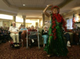 Yvette Gunther (cq), from an entertaining group of seniors who range in age from 65 to 85 called...