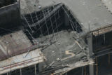 (JOE0618) - Thirteen people were injured -- four seriously -- when part of a floor collapsed...