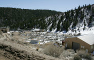 April 7, 2005. The Shell Mahogany Research project in  Rio Blanco County in western Colorado near...