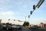 Intersection of East Mississippi Avenue and South Chambers Road, one of four red light camera...