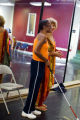 Marceline Freeman and Cleo Parker Robinson smile at the dancers during a rehearsal on Sept. 6,...