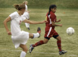 (DENVER, Colo., April 8, 2005) CA's #12, Kellie Slater, (cq Kellie Slater from program), left of...