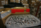 45 caliber ammunition in the storage room. 1.5 million were required this year with another...