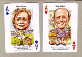 Enclosed are three attachments from Politicards.com showing the lead cards in the 2008 Politicards...