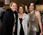 (Denver, Colorado, Oct. 15, 2008) Ashley, Marilyn (mother), and Christi Coors.  Saks Fifth...