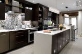 SH08K004DIVINEDESIGN Nov. 3, 2008 -- By blending modern tiles, cabinets and floors with a variety...