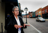 Dick Kettlewell/Journal staff:  Georgeann Silvernail, a Deadwood resident since 1962 and a city...