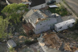JOE449 Aerial view on Friday morning, May 23, 2008 of parts of Windsor, Colo., that was hit by a...