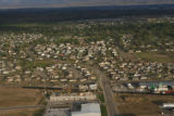 JOE468 Aerial view on Friday morning, May 23, 2008 of parts of Windsor, Colo., that was hit by a...