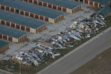 JOE289 Aerial view on Friday morning, May 23, 2008 of parts of Windsor, Colo., that was hit by a...