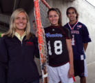 2008 Rocky Mountain News All-Colorado  Top Girls Coach, Top Girl and Top Boy Lacrosse team pose at...
