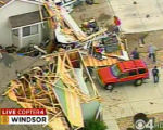 "RMN011_WINDSOR_TORNADO A large tornado wreaked ""total destruction"" in the northern..."